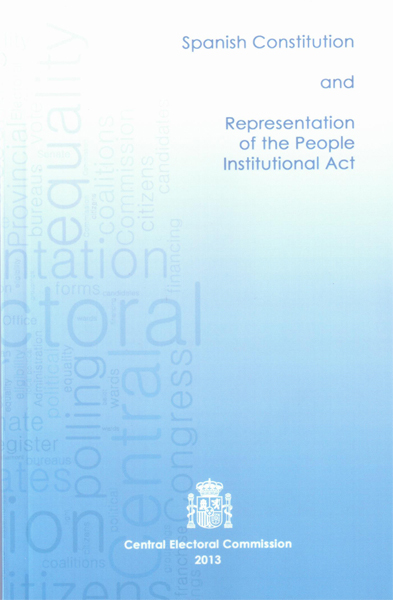 Spanish Constitution and Representation of the People Institutional Act