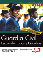 Guardia Civil. Escala de Cabos y Guardias. Temario Vol. II.
