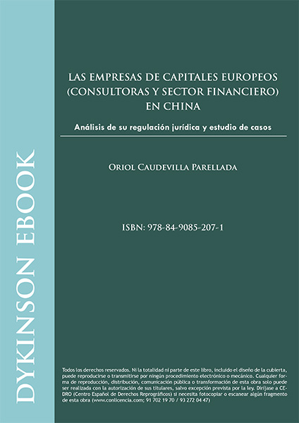 Las empresas de capitales europeos. (Consultoras y sector financiero) en China