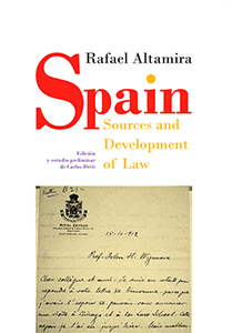 Spain. Sources and Development of Law