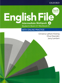 English File Intermediate. Student book workbook. Multipack A