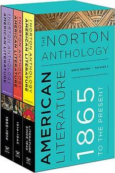 The Norton Anthology of American Literature (Volúmenes C-D-E)