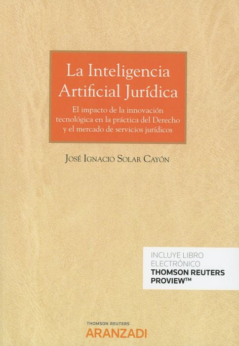 La inteligencia artificial jurídica