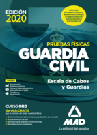 Guardia Civil. Escala de Cabos y Guardias . Pruebas físicas