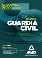 Guardia Civil. Temario. Volumen 1
