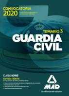 Guardia Civil. Temario Volumen 3