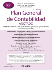 Plan General de Contabilidad. Anotado