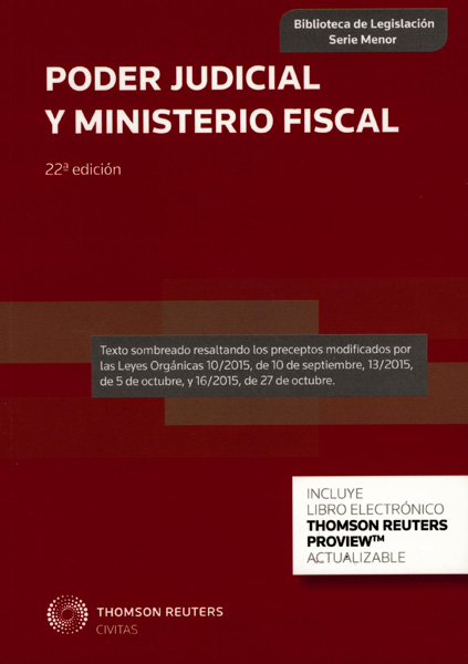 Poder Judicial y Ministerio Fiscal