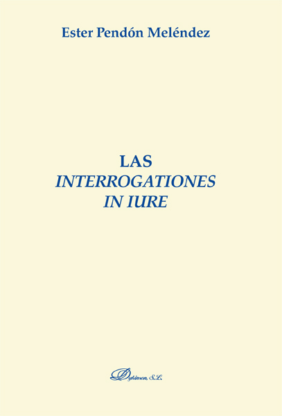 Las interrogationes in iure