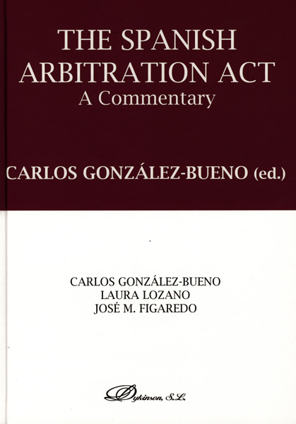 The Spanish arbitration act