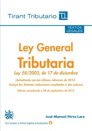Ley General Tributaria 2015