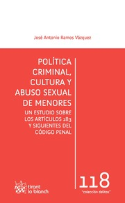 Política Criminal, Cultura y Abuso Sexual de Menores