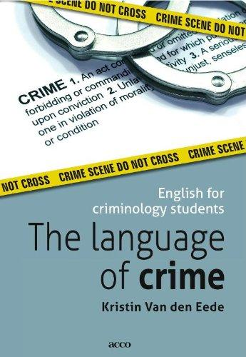 English for Criminology Students