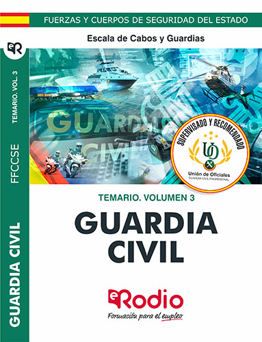 Guardia Civil. Temario. Volumen 3. Escala de Cabos y Guardias