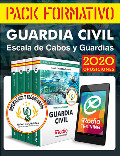 Pack Formativo Guardia Civil