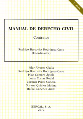 Manual de derecho civil. Contratos