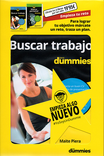 Pack Buscar trabajo para Dummies #EmpiezaTuReto
